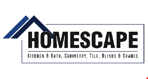 Product image for Homescape Kitchen And Bath 30% off any cabinetry purchase.