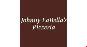 Product image for Johnny LaBella's Pizzeria $31.99 large pizza 1 topping and 20 wings