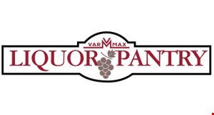 Product image for VARMAX LIQUOR PANTRY 10% Off Wine & Spirits Purchase