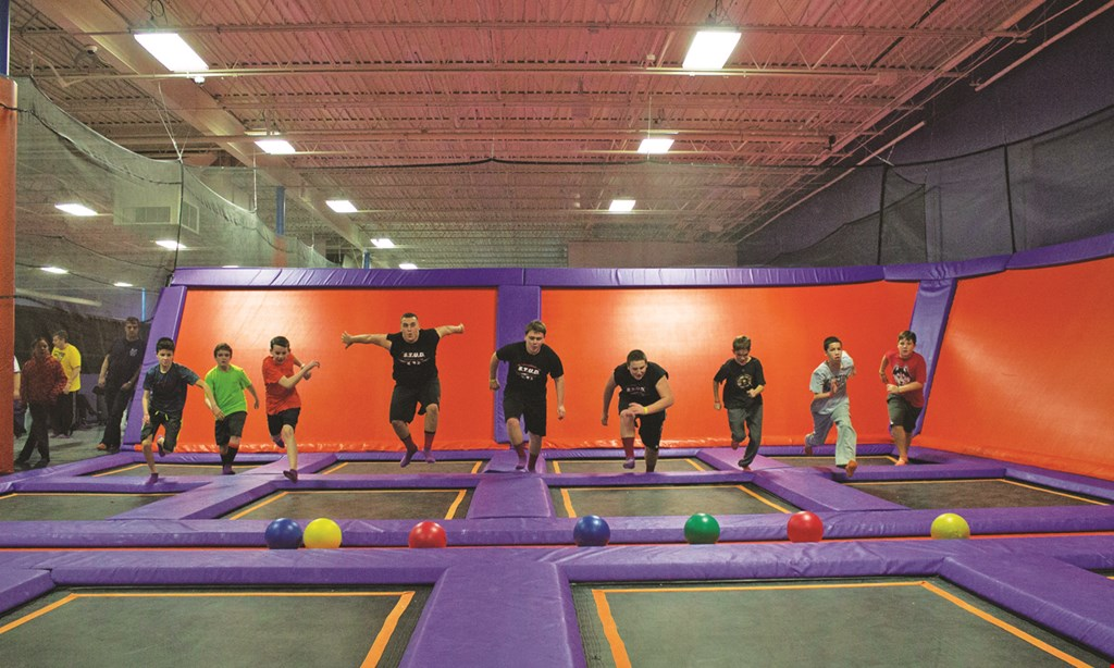 Product image for Altitude Trampoline Park Free! 30-Minute Jump Pass