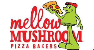 Product image for Mellow Mushroom $5 off any food purchase of $25 or more.