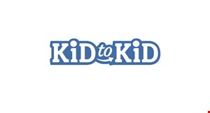 Product image for Kid to Kid $5 off a $30 purchase or $10 off your $50 purchase.