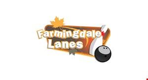 FARMINGDALE LANES logo