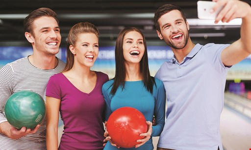 Product image for Farmingdale Lanes $20 off Any Regularly Priced Family Fun Packs