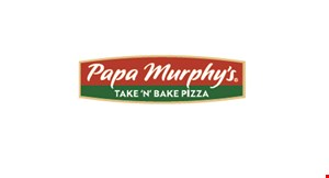 Product image for Papa Murphy's $3 OFF FAMILY SIZE PIZZA. Discount off regular menu price. Excludes XLNY® and Friday pizza deals.