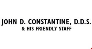 John D. Constantine, D.D.S. logo
