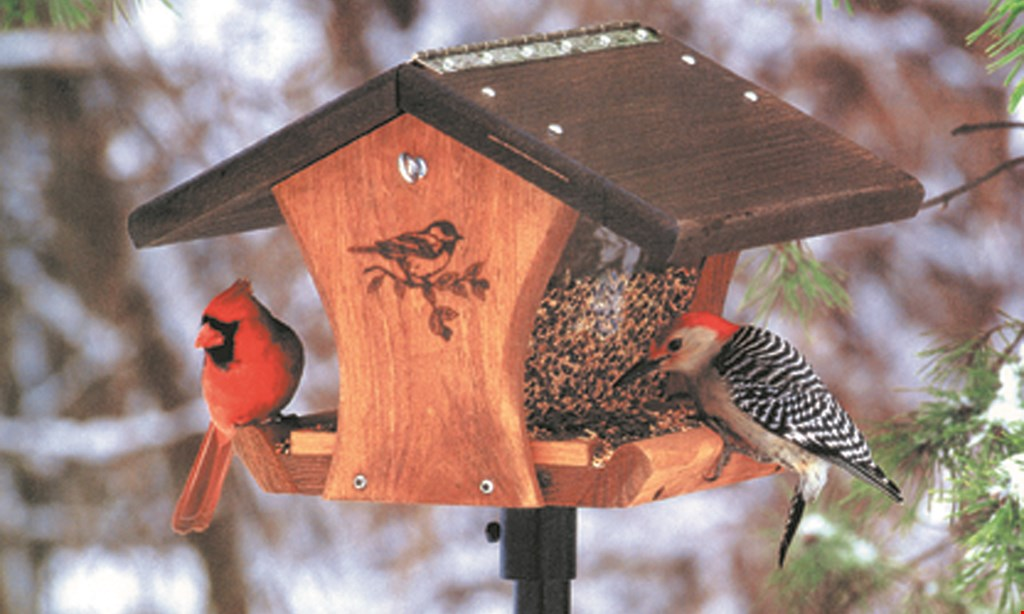 Product image for Wild Birds Unlimited $5 OFF Any Purchase Of $30 Or More.