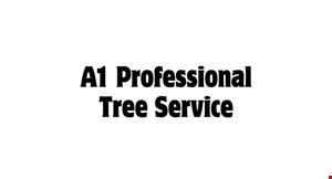 A1 Professional Tree Service logo
