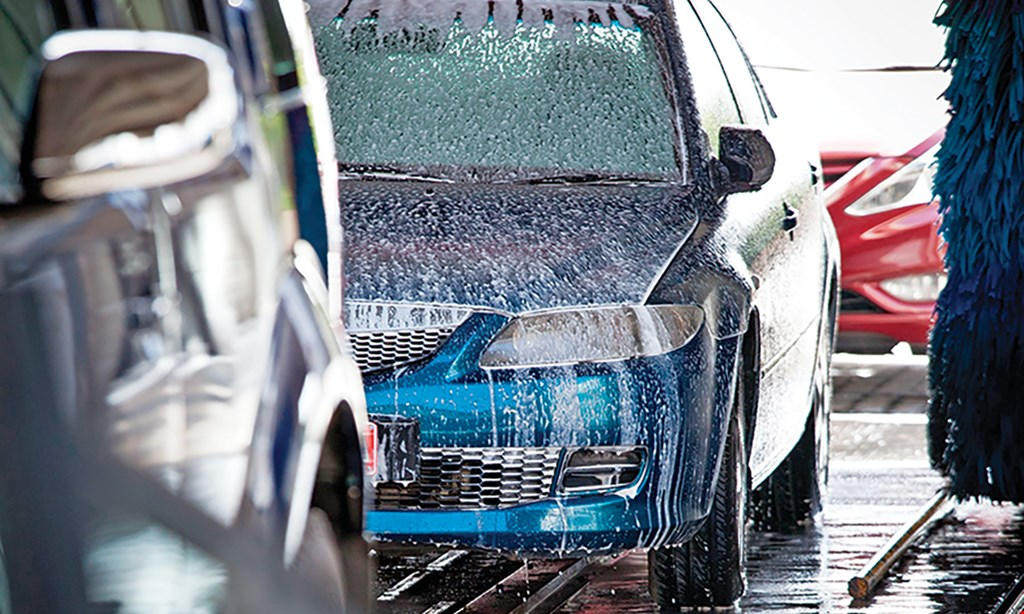 Product image for SCOTT'S EXETER CAR WASH $15 off express oil change, interior express & hot wax.