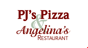 Angelina's Restaurant & PJ's Pizza logo