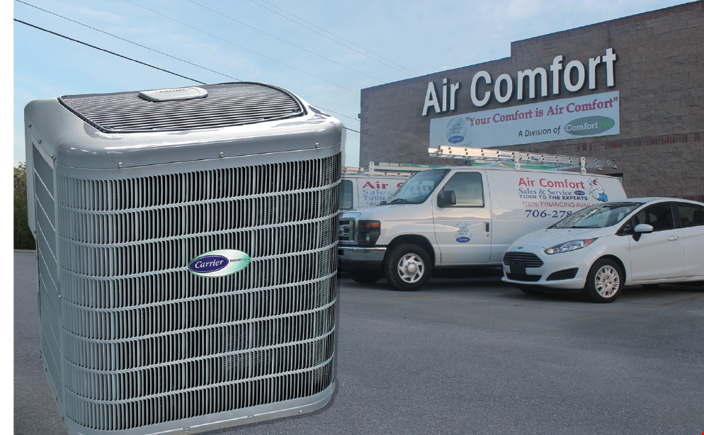 Product image for Air Comfort free 10 Year Warranty On All Parts & Labor With a New System Installation $550 Value.