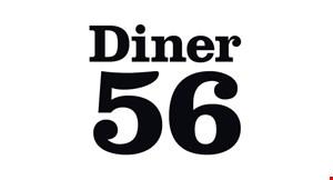 56 Diner logo