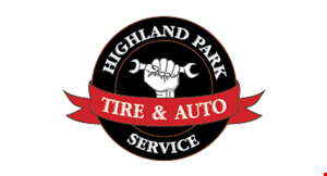 Highland Park Tire and Auto Repair logo