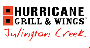 Hurricane Grill & Wings - Julington Creek logo