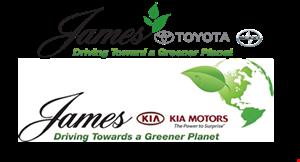 James Toyota logo