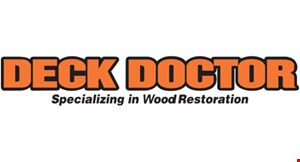 Product image for Deck Doctor $250 OFF Any Exterior Painting Job
