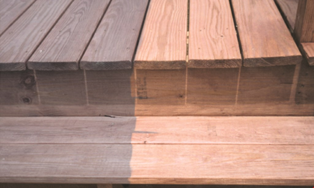 Product image for Deck Doctor $60 OFF Deck Cleaning/Staining