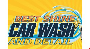Best Shine Car Wash and Detail logo