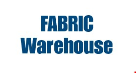 Fabric Warehouse logo