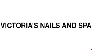 Victoria's Nails And Spa logo