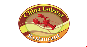 Product image for China Lobster $2 OFF any purchase of $20 or more or $3 OFF any purchase of $30 or more or $5 OFF any purchase of $50 or more