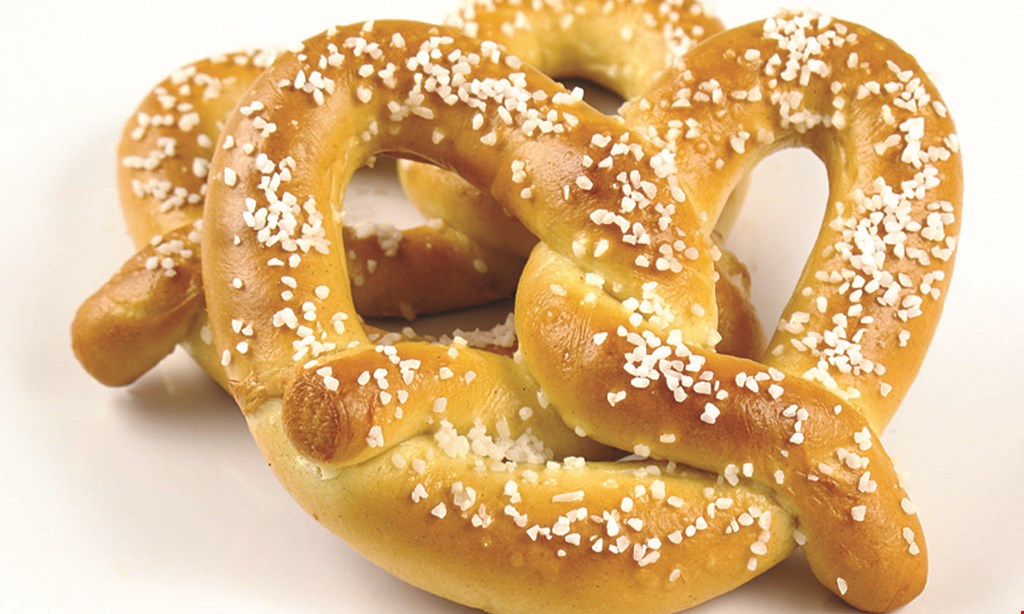 Product image for Philly Pretzel Factory only $9.50 large box of rivets & large dip.