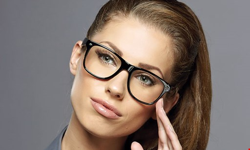 Product image for INVISION OPTICS $75 off complete pair of eyeglasses