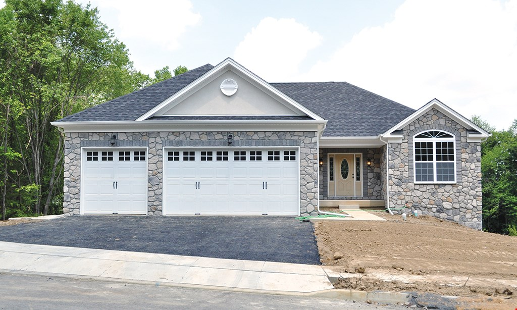 Product image for PRECISION OVERHEAD GARAGE DOOR SERVICE 15% OffNew Insulated Garage Door