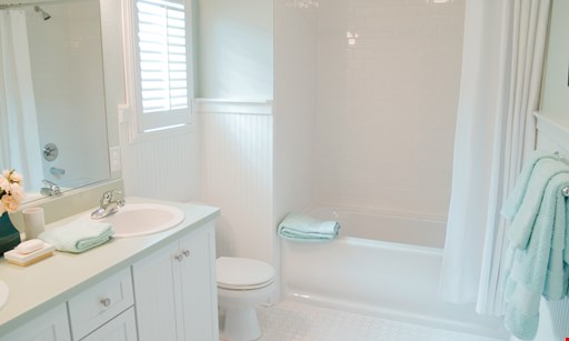 Product image for AB&K BATH & KITCHEN TOTAL BATHROOM MAKEOVER FROM $7,995*