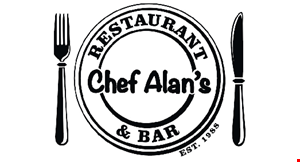 Chef Alan's Restaurant & Bar logo