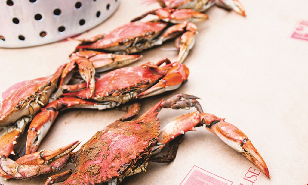 Product image for Harbour House Crabs $14 OFF any half bushel of crabs.