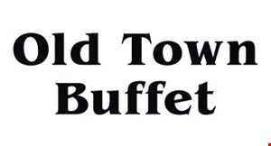 Product image for Old Town Buffet $6 OFF any purchase of $50 or more.
