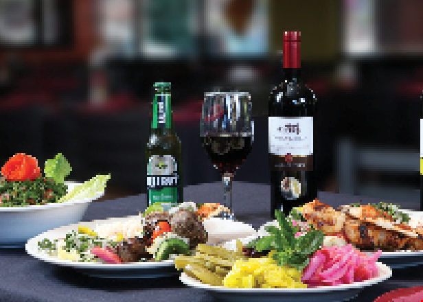 Product image for Beirut Restaurant and Spirits $25 gift card $25 towards the purchase of $75 or more.