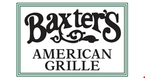 Baxter's American Grille logo