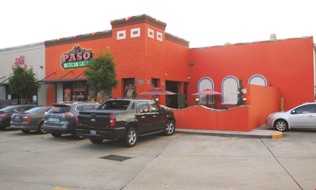 Product image for El Paso Mexican Grill $4 off any dinner