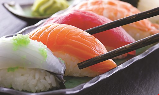 Product image for Mt. Fuji Sushi & Asian Bistro 10% off any purchase max. discount $35