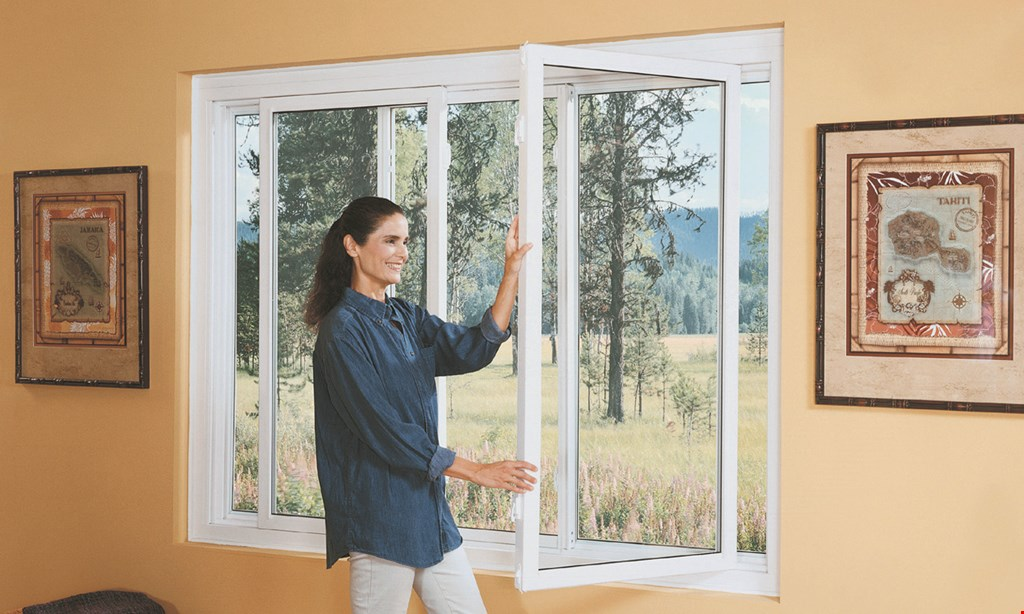 Product image for Columbus Glass Block SAVE $400 on 8 Clear Choice vinyl replacement windows or more (or receive Free Low E/Argon-a $400 value)