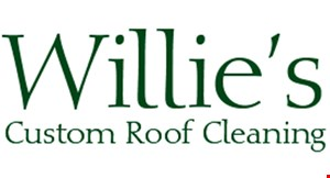 Willie's Roof Cleaning logo