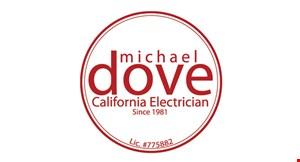 Michael Dove California Electrician logo