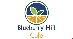 Product image for Blueberry Hill  Cafe - Plainfield $3 OFF any purchase of $15 or more or $5 OFF any purchase of $25 or more.