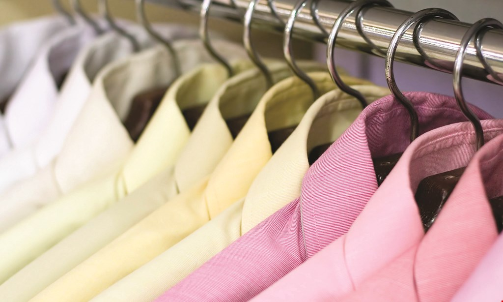 Product image for Farragut Cleaners- Hardin Valley 20% OFF Any Dry Cleaning Order Cleaned & Pressed