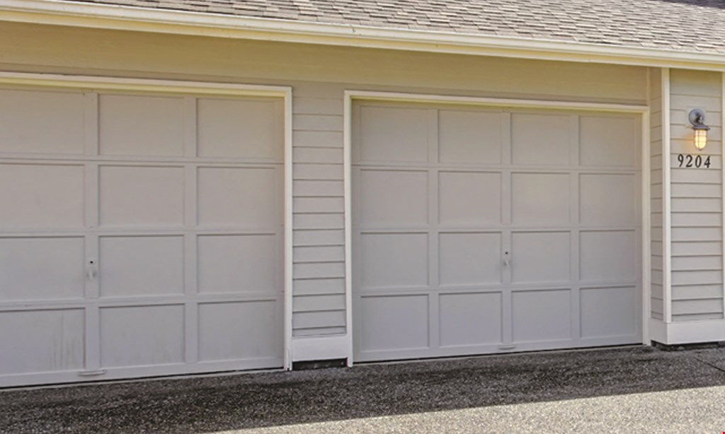 Product image for Spring King Garage Door Service Broken Springs? $150 Installed. 2 Standard Cycle Oil Tempered Torsion Springs. 3-Year Parts & Labor Warranty.