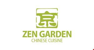 Product image for Zen Garden Chinese Cuisine $10 OFF any order of $60 or more before tax.