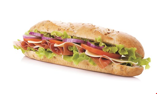 Product image for JERSEY MIKE'S PITTSBURGH buy a regular sub, get a regular sub free of equal or less value