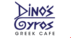 Dino's Gyros Greek Cafe logo