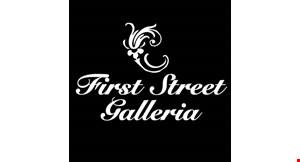 First Street Galleria logo