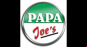Papa Joe's Pizza Subs & More logo