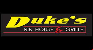 Duke's Rib House & Grille logo