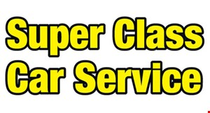 Product image for Super Class Car Service $10 off one way first time clients.