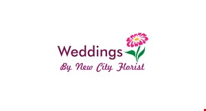 Product image for Weddings By New City Florist 10% Off your wedding package